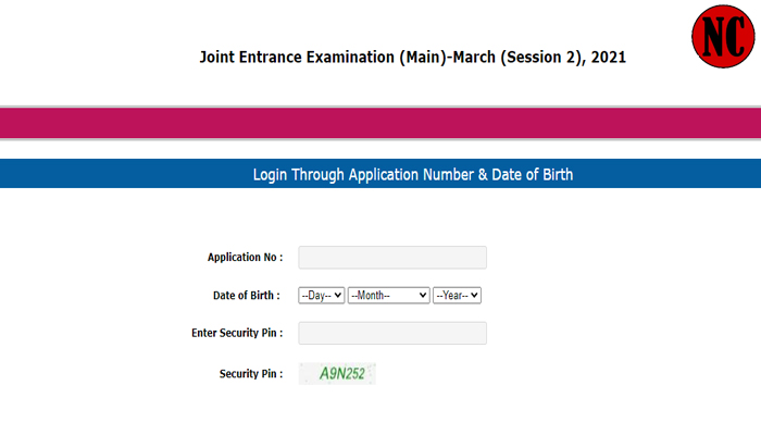 JEE Main March 2021